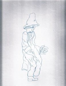 Last whole figure drawn Fall 2012