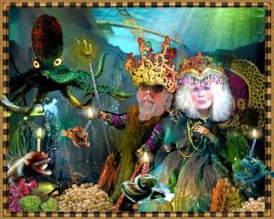 King Neptune & his bride