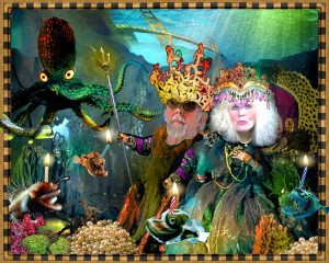 King Neptune and his Mermaid, Druid
