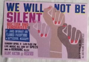 Fundraiser in Kerouac Alley